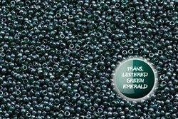 TOHO  TR-11-118 Trans.Lustered Green Emerald 100g