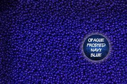 TR-11-48F Opaque Frosted Navy Blue 10g