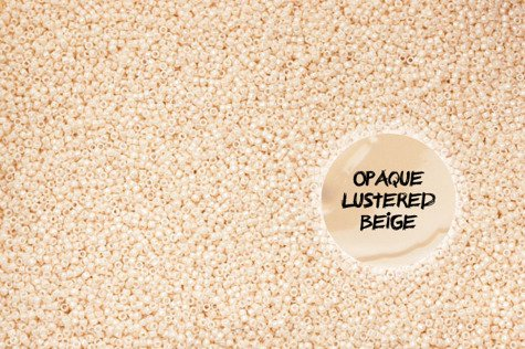 TOHO TR-08-123 Opaque-Lustered Lt Beige 10g