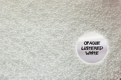 TR-06-121 Opaque Lustered White 100g